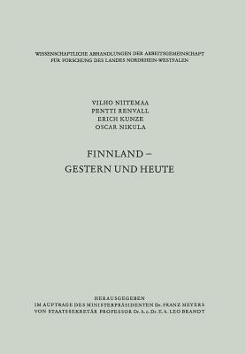 Finnland - Gestern Und Heute  by  Vilho Niitemaa