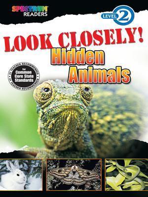 Look Closely! Hidden Animals: Level 2 Carson-Dellosa Publishing