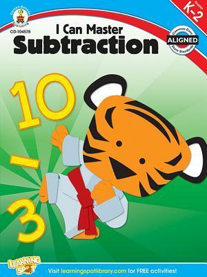I Can Master Subtraction, Grades K - 2  by  Carson-Dellosa Publishing