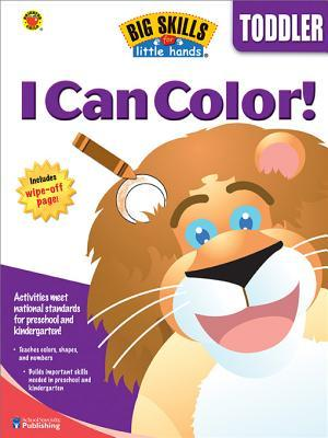 I Can Color, Grade Toddler  by  Brighter Child