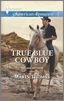 True Blue Cowboy (Cash Brothers, #5)  by  Marin Thomas