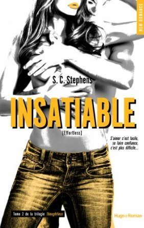Insatiable (Thoughtless, #2) S.C. Stephens