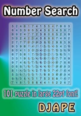 Number Search: 101 Puzzle in Large 22pt Font!  by  djape