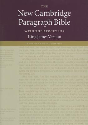 The New Cambridge Paragraph Bible with the Apocrypha - King James Version Anonymous