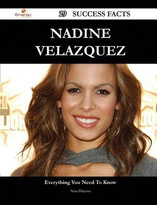 Nadine Velazquez 29 Success Facts - Everything You Need to Know about Nadine Velazquez Sean DeJesus