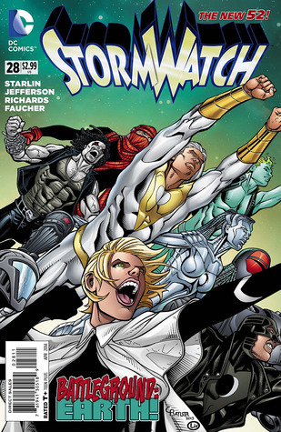 Stormwatch #28 (The New 52)  by  Jim Starlin