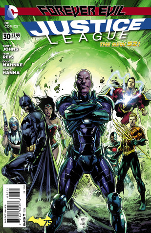Justice League #30 (The New 52)  by  Geoff Johns
