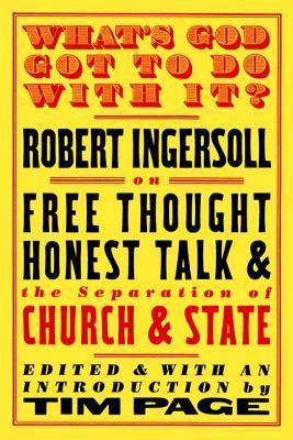 Abraham Lincoln Robert G. Ingersoll
