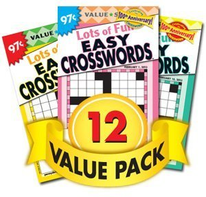 Favorite Crossword Puzzles-12 Pack Penny Publications LLC