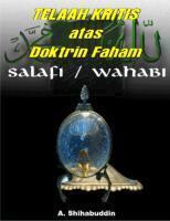 Telaah Kritis atas Doktrin Faham A. Shihabuddin