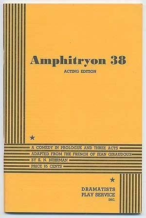 Amphitryon 38  by  S.N. Behrman