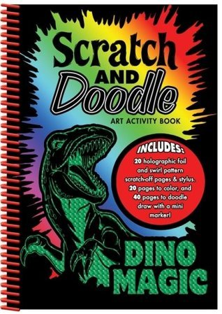 Dino Magic: Scratch and Doodle Art Activity Book  by  Dalmatian Press