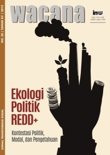 Ekologi Politik REDD+: Kontestasi Politik, Modal, dan Pengetahuan Rini Astuti
