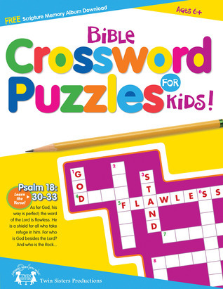 Bible Crossword Puzzle Book Twin Sisters Productions