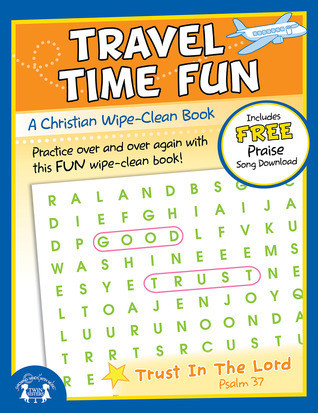 Travel Time Fun Christian Wipe-Clean Workbook  by  Twin Sisters Productions