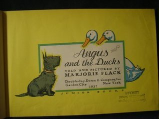 Angus and the ducks, Marjorie Flack