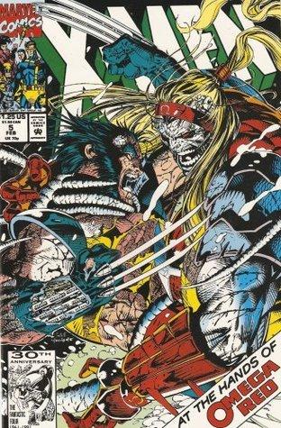 X-Men #5 Vol. 1 February 1992  by  Jim Lee