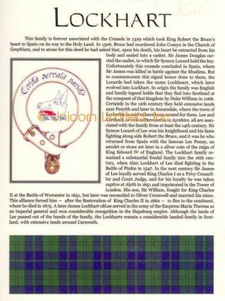 Lockhart Family History W R McLeod