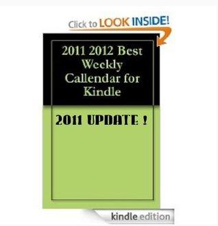 2012 Best Weekly Calendar APP Application  by  Sebastian Gronski