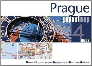 Prague Popout Map Popout Maps