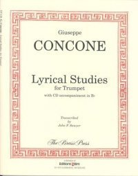 Lyrical Studies for Trumpet or Horn  by  Giuseppe Concone
