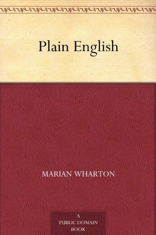 Plain English  by  Marian Wharton