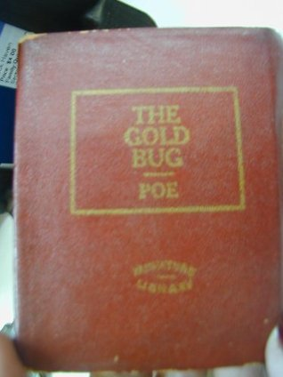 The Gold Bug: Little Leather Library miniature red  by  Edgar Allan Poe