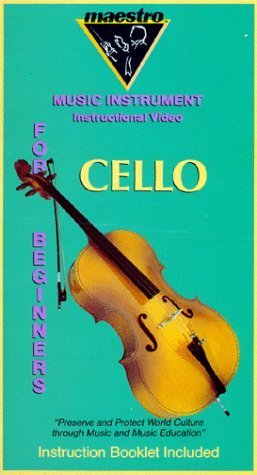 NOT A BOOK: Maestro Series: Cello [VHS] NOT A BOOK
