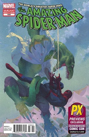 SDCC 2012 Amazing Spider-Man #688 Various