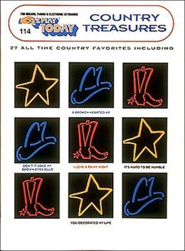 Country Treasures (EZ Play Today Series , #114)  by  Hal Leonard Publishing Company