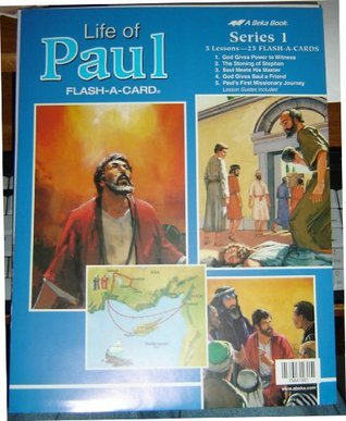 LIFE OF PAUL FLASH-A-CARD (5 LESSONS 25 FLASH CARDS, SERIES 1)  by  Beka Books