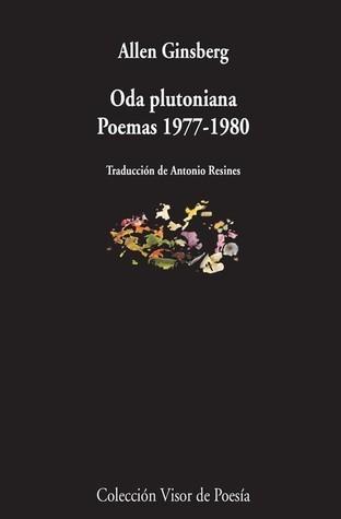 Oda plutoniana y otros poemas  by  Allen Ginsberg