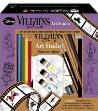 Villains Art Studio Walt Disney Company