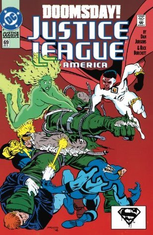 JUSTICE LEAGUE (of) AMERICA (1987-1996) #69  by  Dan Jurgens