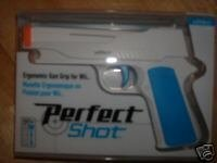 WII PERFECT SHOT GUN WII PERFECT SHOT GUN (WII SYSTEM IS SOLD SEPERATELY) (WII PERFECT SHOT GUN (WII GUN ONLY)(REQUIRES A WIIMOTE), WII PERFECT SHOT GUN (WIIMOTE IS NOT INCLUDED)) WII PERFECT SHOT GUN (WII SOLD SEPERATELY)