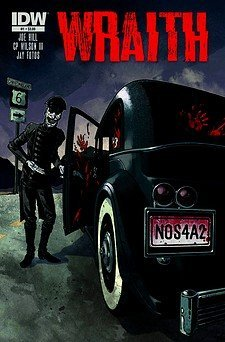 Wraith: Welcome to Christmasland #1 Gabriel Rodriguez Undead Chauffeur Cover  by  (W) Joe Hill