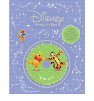 DISNEY WINNIE THE POOH and THE BLUSTERY DAY / TIGGER TOO (Book & CD) Disney Enterprises