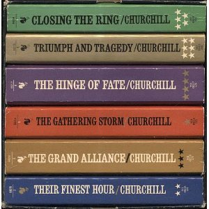 WINSTON S. CHURCHILL THE SECOND WORLD WAR - COMPLETE IN SIX VOLUMES IN SLIPCASE Winston S. Churchill