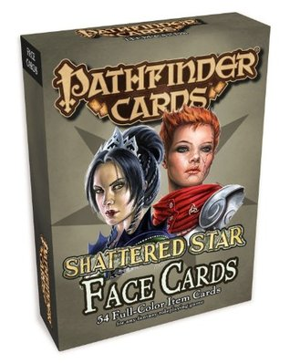 Pathfinder Face Cards: Shattered Star Adventure Path  by  James Jacobs