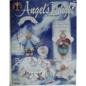 {Folk Art Painting} Angel Delight: 21 Heavenly Angels! -Easy to Paint for Small Wood Parts Linda {Designs By} Jordan