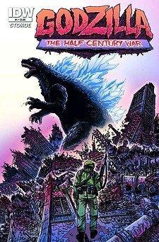 Godzilla Half Century War, No. 1  by  James Stokoe