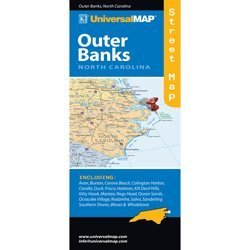 Outer Banks Road Map Universal Map