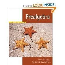 Prealgebra 3rd (Third) Edition byTussy  by  Tussy &Gustafson