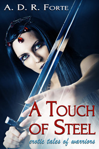A Touch of Steel: Erotic Tales of Warriors A.D.R. Forte