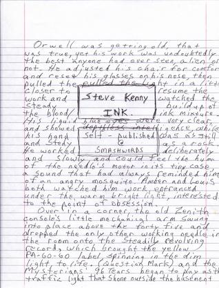 Ink Steve Kenny