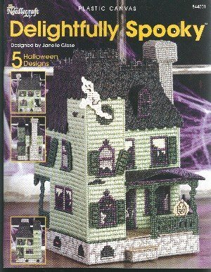 Delightfully Spooky (plastic canvas, The Needlecraft Shop #844501) Janelle Giese