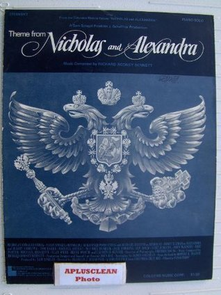 Theme From Nicholas and Alexandra. Piano Solo. Arranged Sid Engel. Sheet Music. by Richard Rodney Bennett