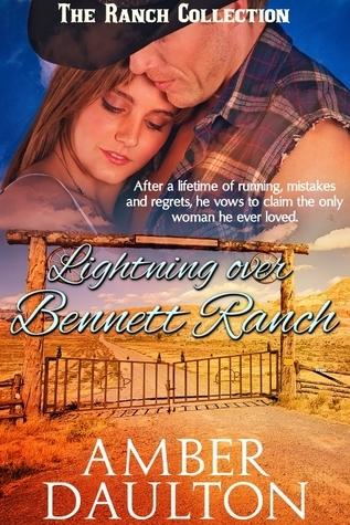Lightning over Bennett Ranch  by  Amber Daulton