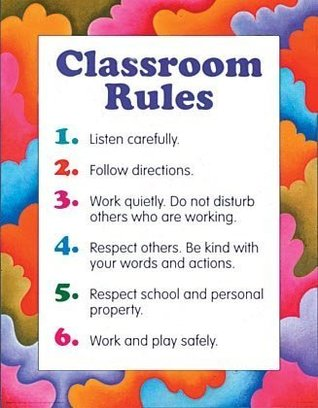 Classroom Rules Cheap Chart  by  School Specialty Publishing