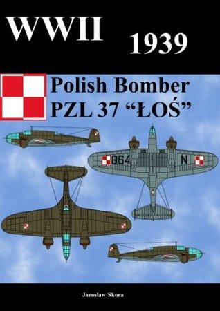WWII 1939 Polish Bomber PZL 37 LOS  by  Jaroslaw Skora
